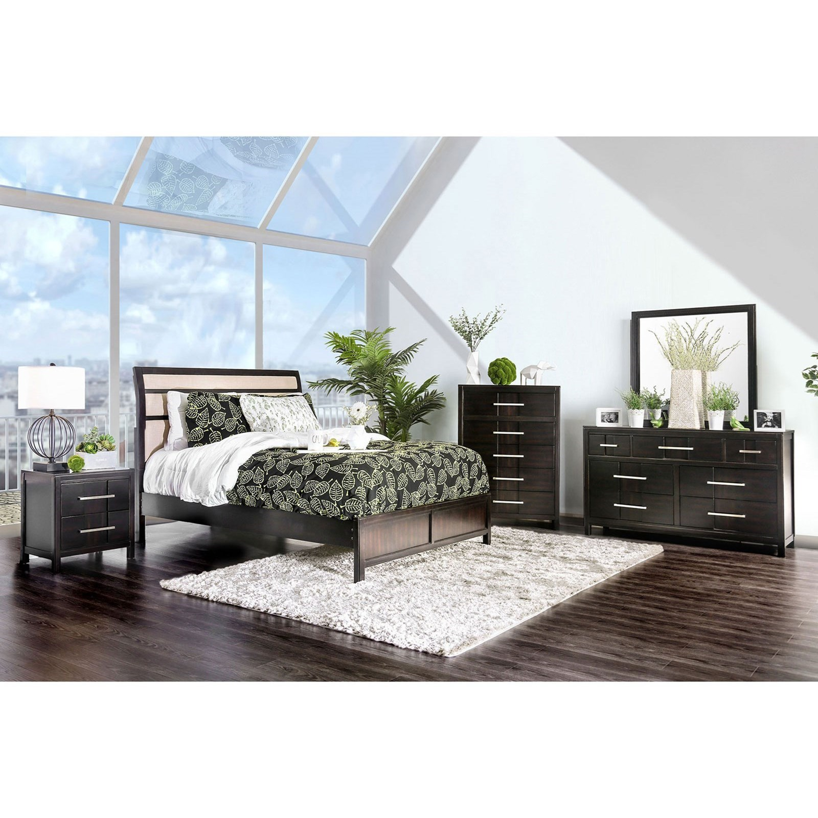 Berenice Queen Bedroom Group at Household Furniture