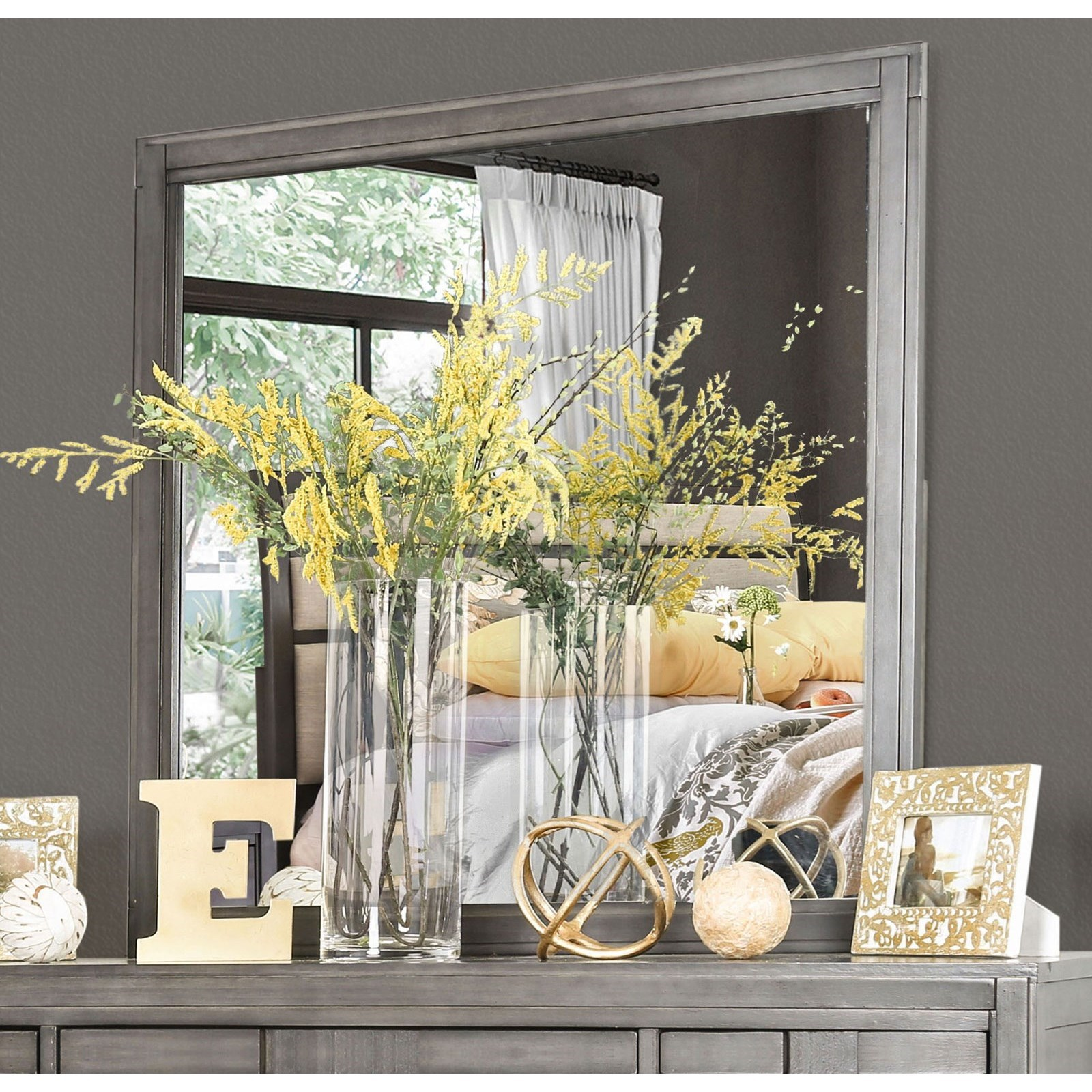 Berenice Mirror at Household Furniture