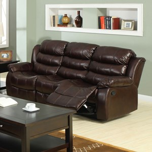 Sofa with 2 Reclining Seats