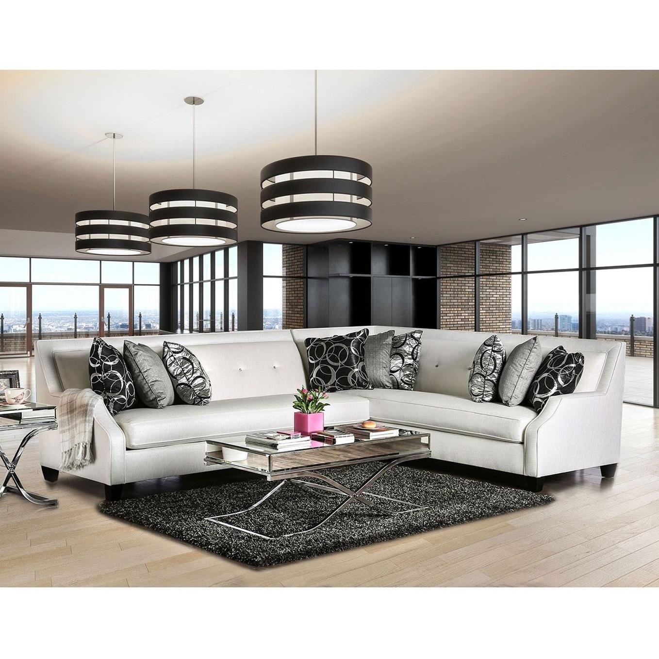 Betria Sectional at Household Furniture