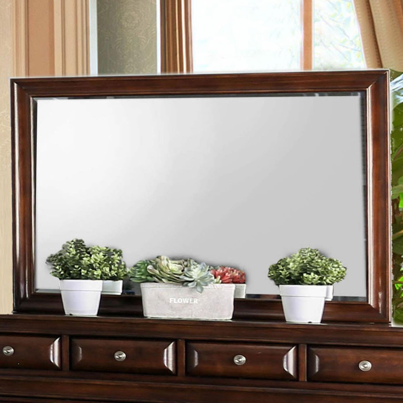 Brandt Mirror by Furniture of America at Nassau Furniture and Mattress