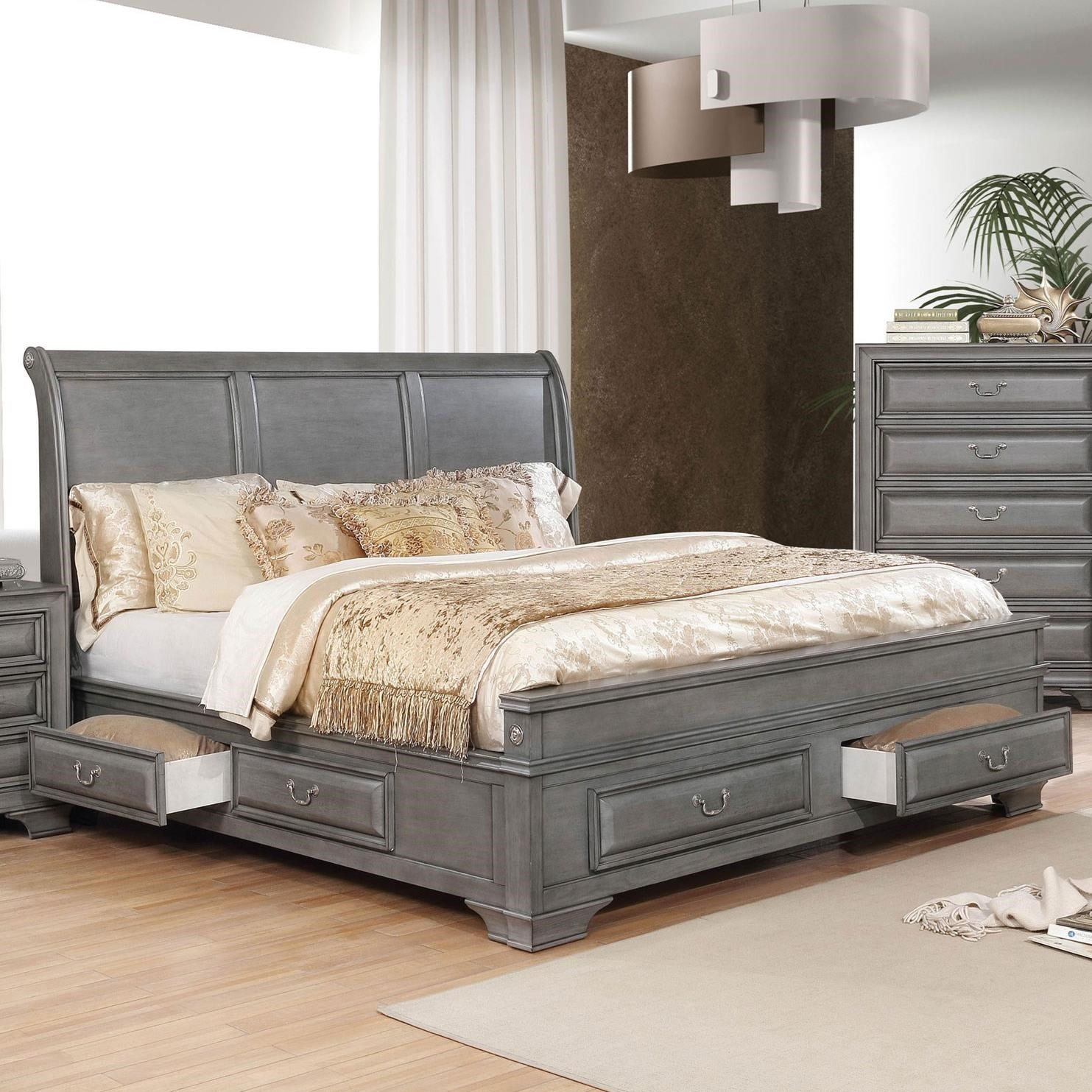 Brandt California King Bed at Household Furniture