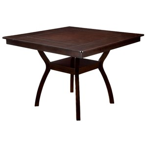 Contemporary Counter Height Table