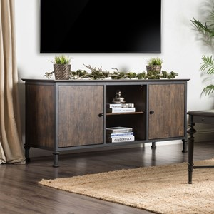 "60"" TV Stand with Metal Frame"