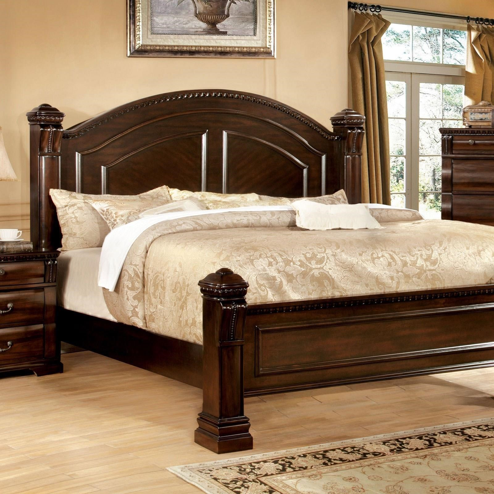 Burleigh Queen Bed at Household Furniture