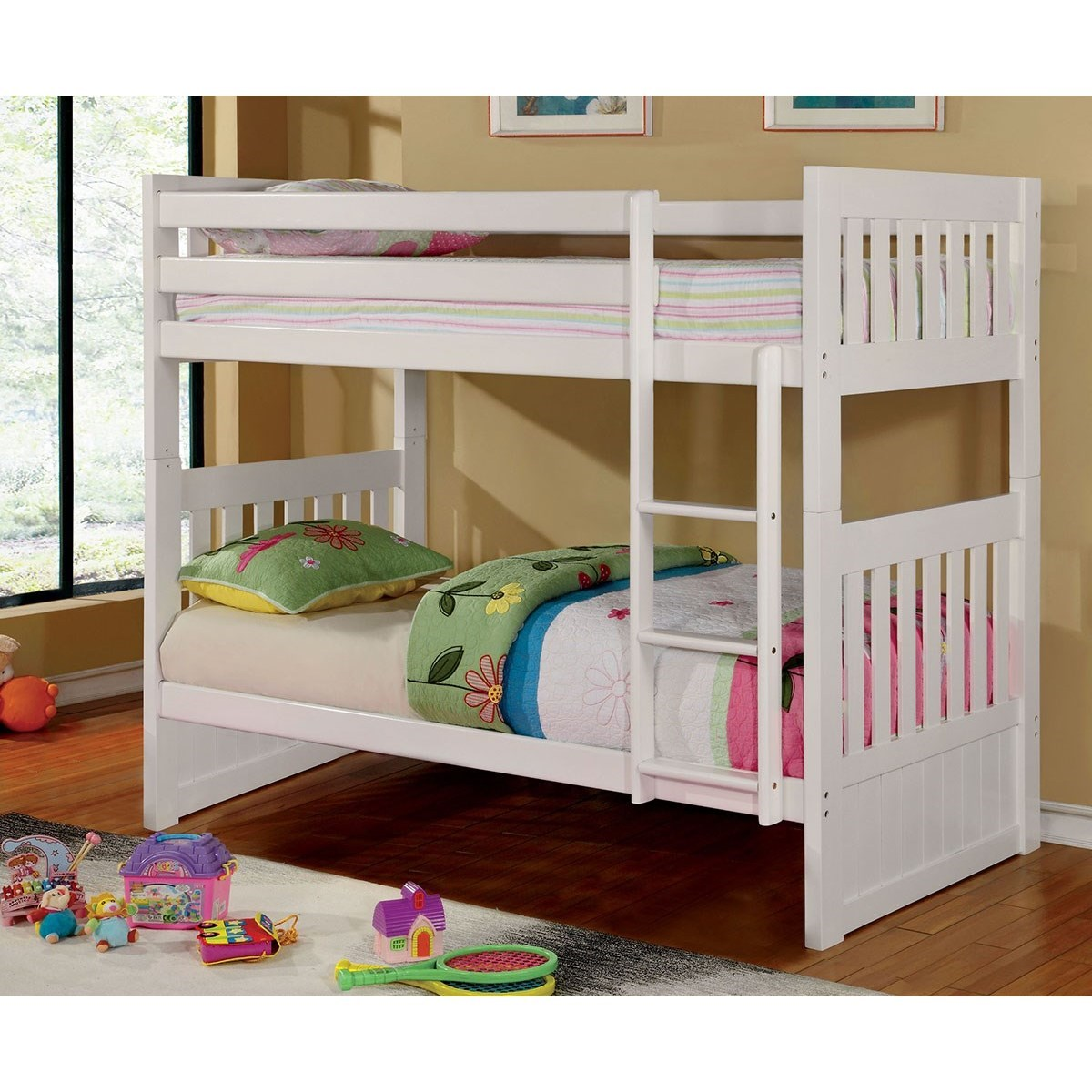 Canberra II Twin/Full Bunk Bed at Household Furniture