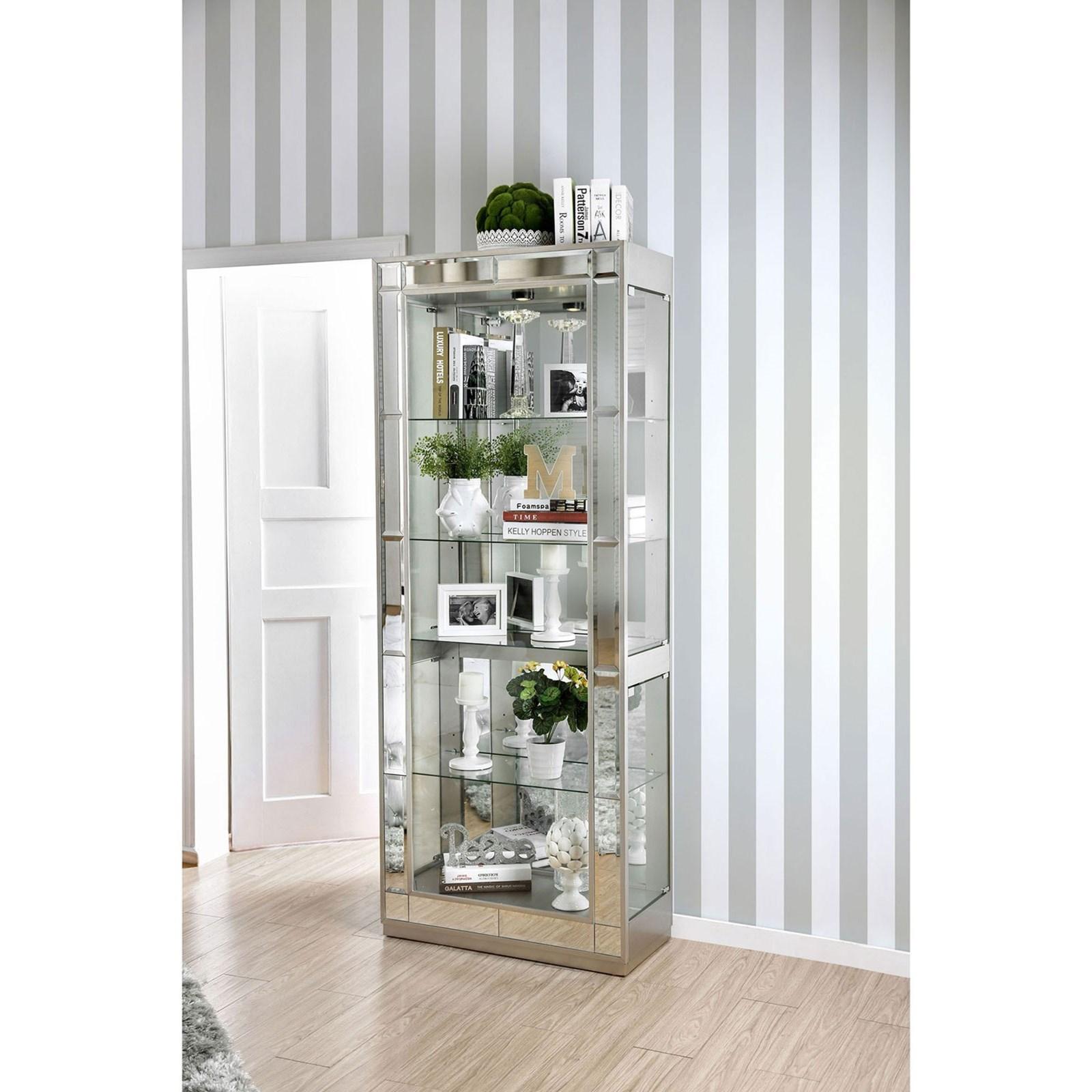 Carrollton Curio Cabinet at Household Furniture