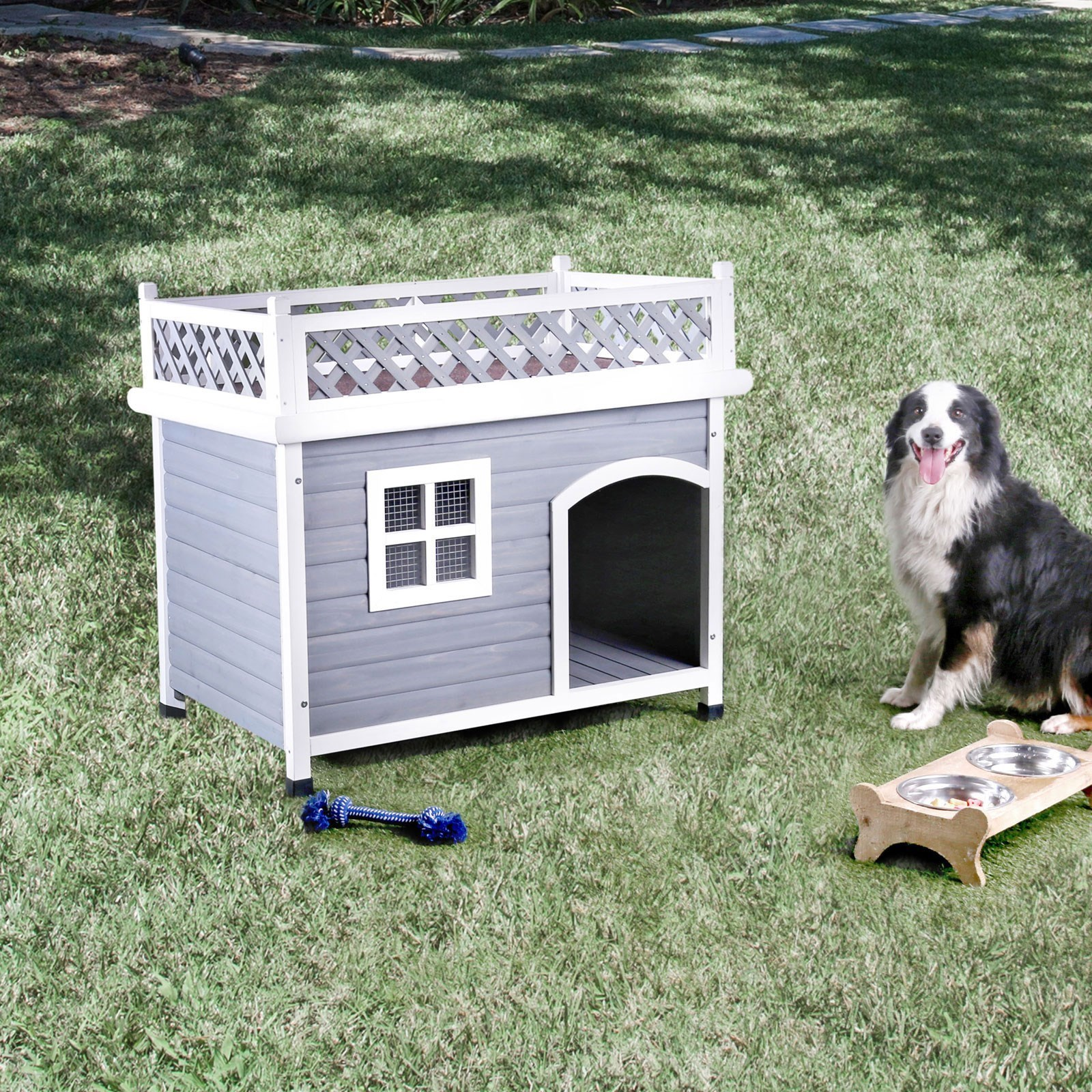 Cayuga Pet House by Furniture of America at Dream Home Interiors