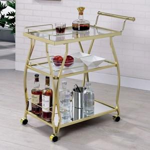 Contemporary Serving Cart