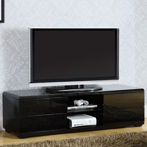Contemporary 59' TV Console with Storage