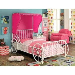 Metal Full Carriage Bed
