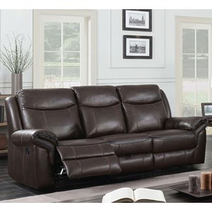 Reclining Sofa with Drop-Down Table