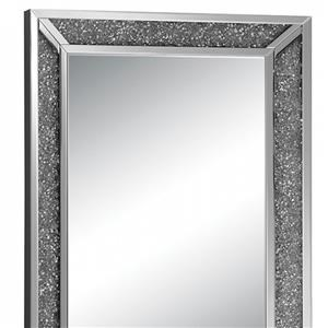 Crystal Accent Wall Mirror