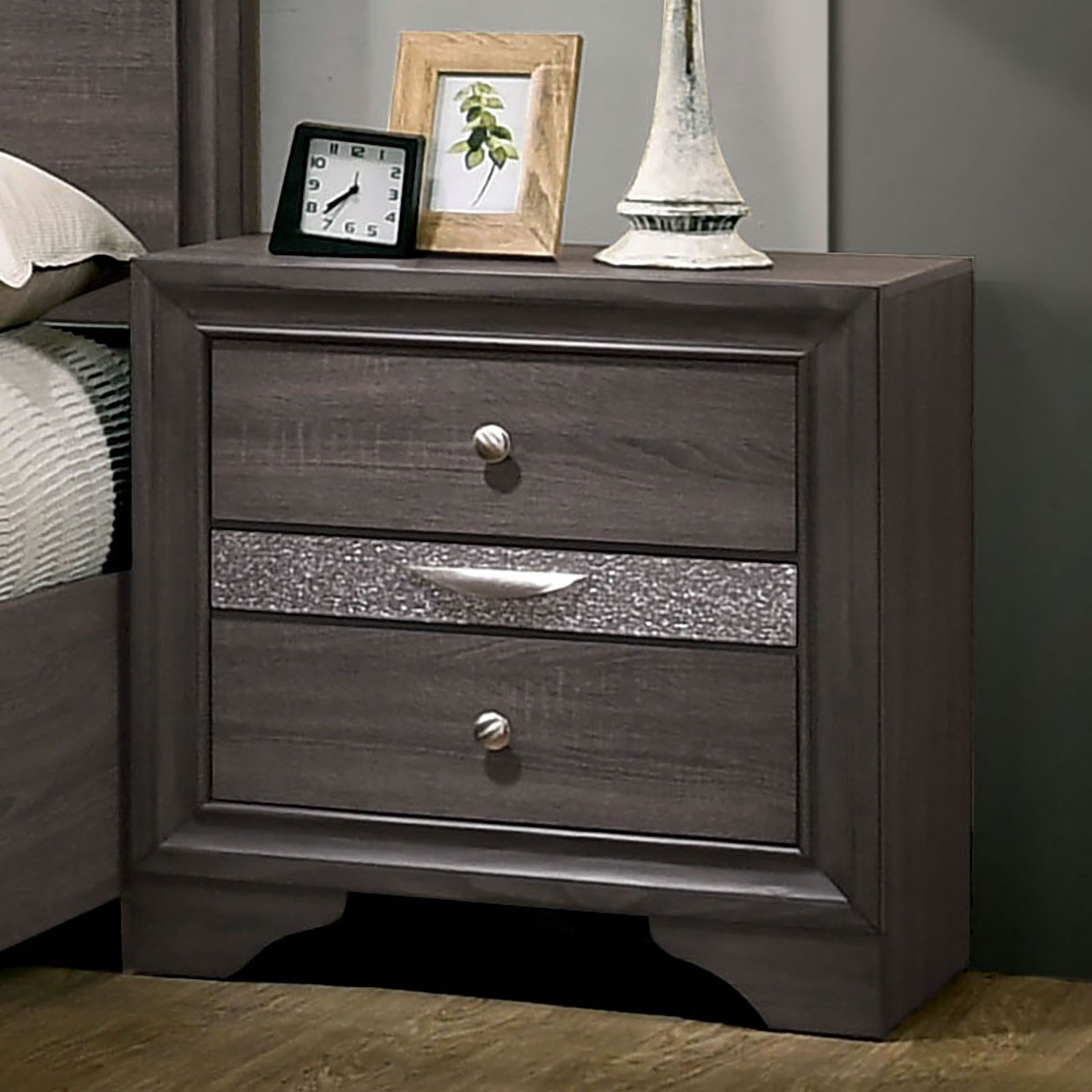 Chrissy Nightstand by Furniture of America at Corner Furniture