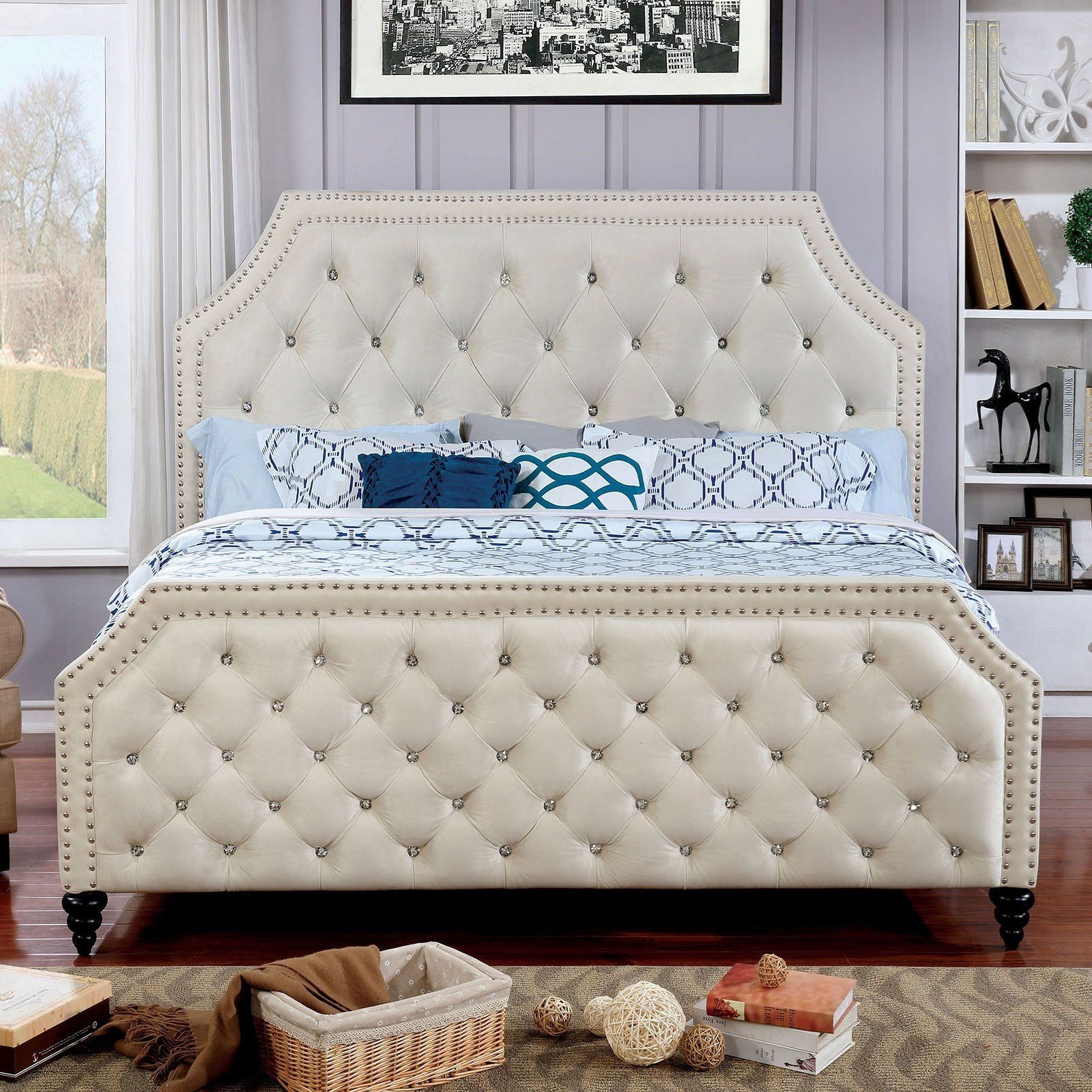 Claudine Full Bed by Furniture of America at Corner Furniture