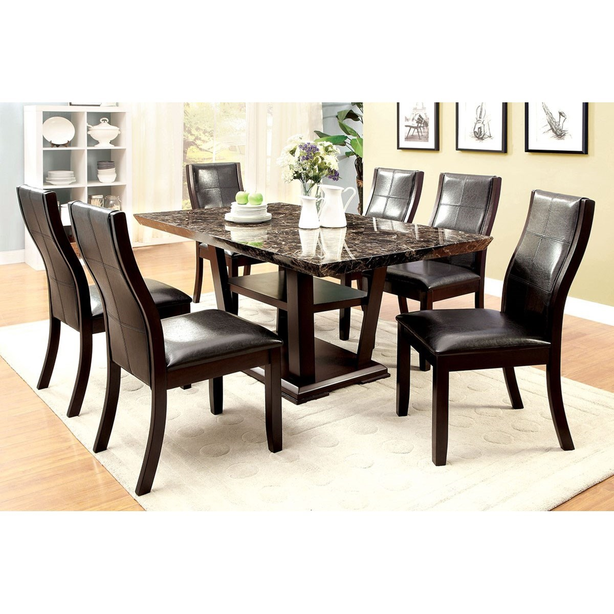 Clayton I Rectangular Dining Table at Household Furniture
