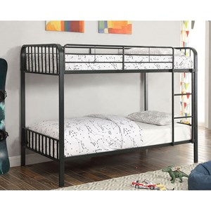 Youth Bedroom Metal Twin/Twin Bunk Bed