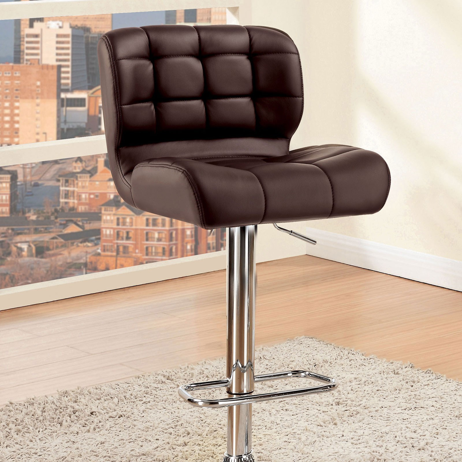 Kori Bar Chair by Furniture of America at Dream Home Interiors
