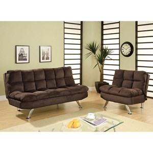 Futon Sofa and Chairs