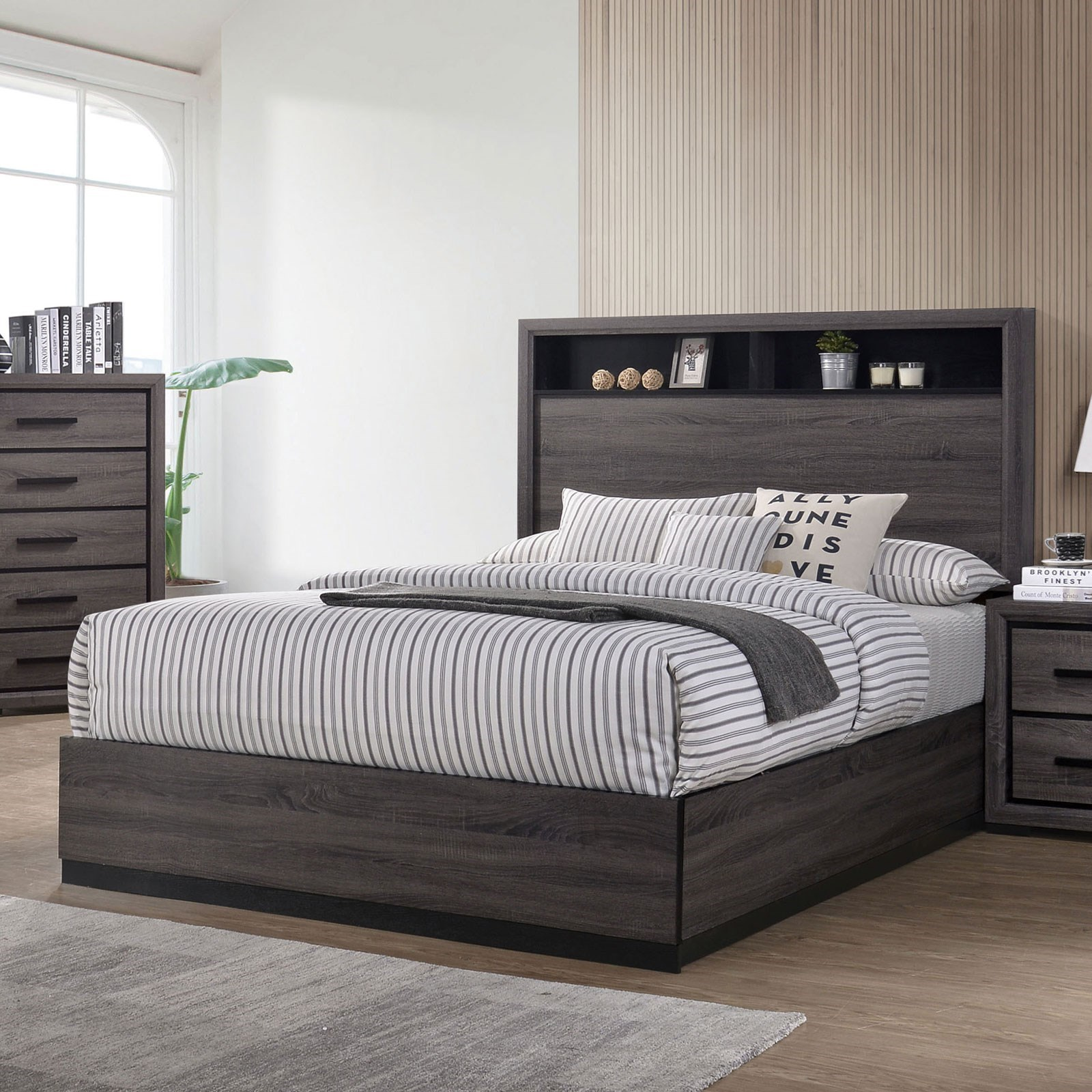 Conwy Queen Bed  by Furniture of America at Nassau Furniture and Mattress