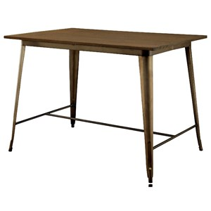 Industrial Counter Height Table