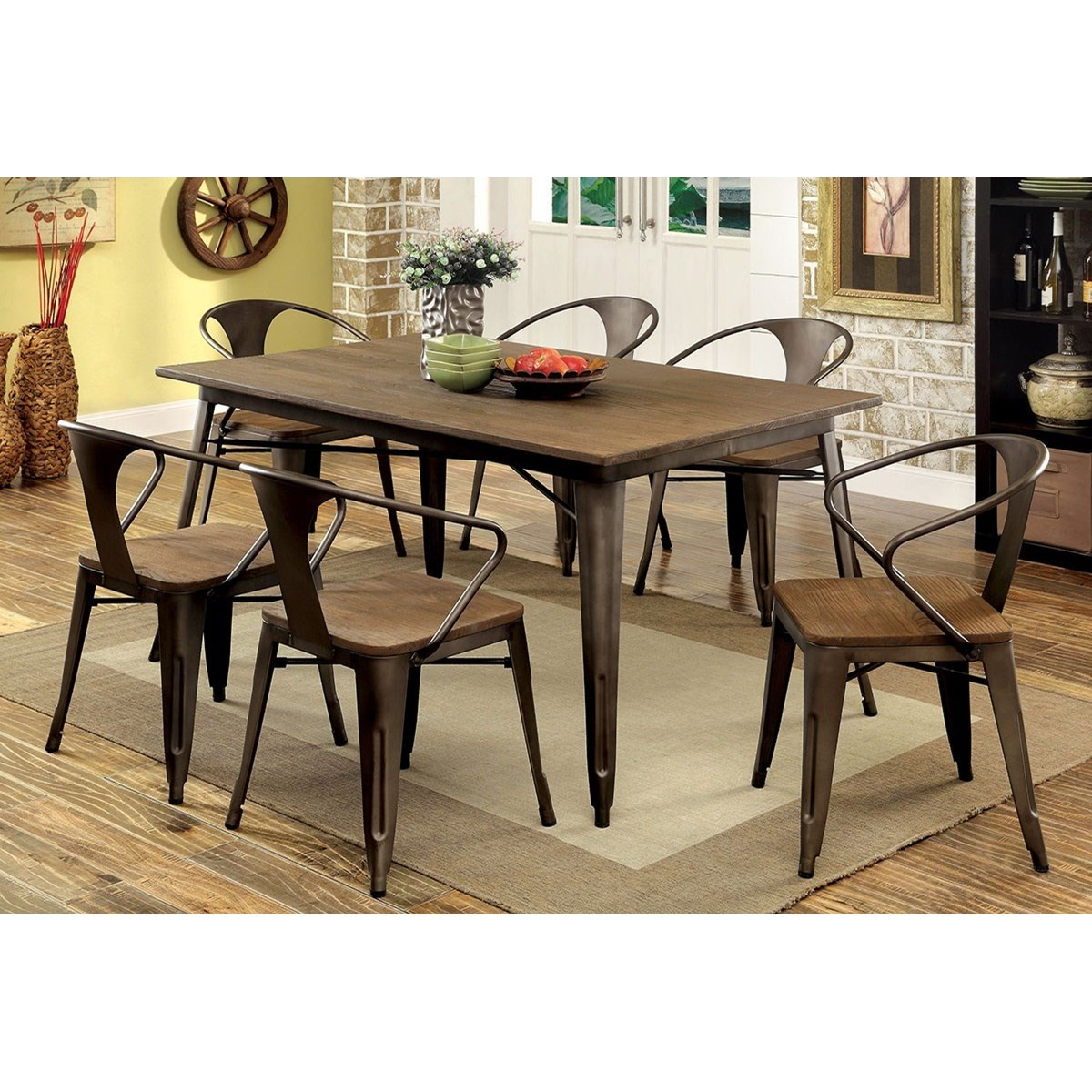 Cooper Table and Chair Set at Household Furniture