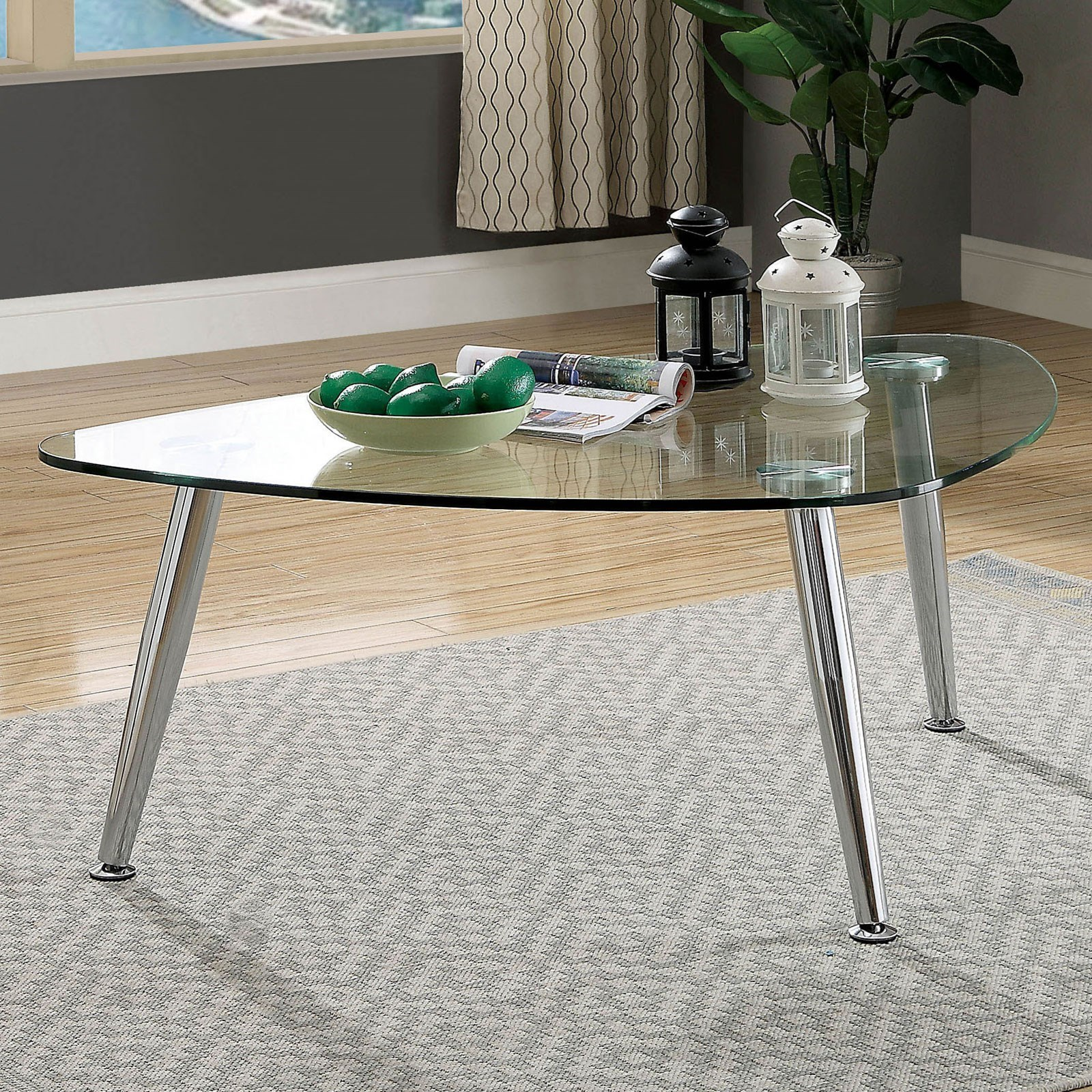 Delany Coffee Table by Furniture of America at Corner Furniture