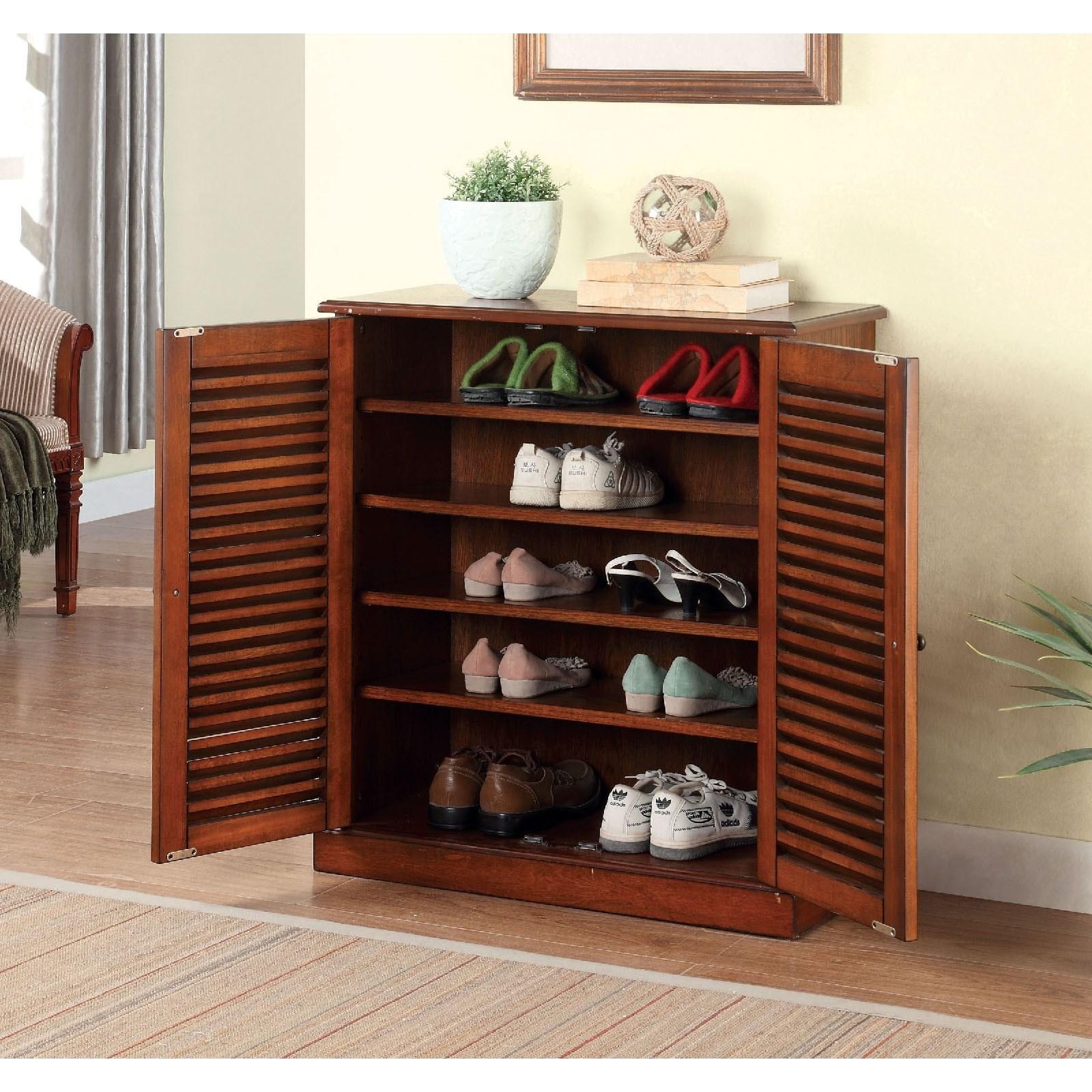Della Shoe Cabinet at Household Furniture