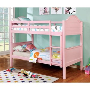 Traditional Twin/Twin Bunk Bed