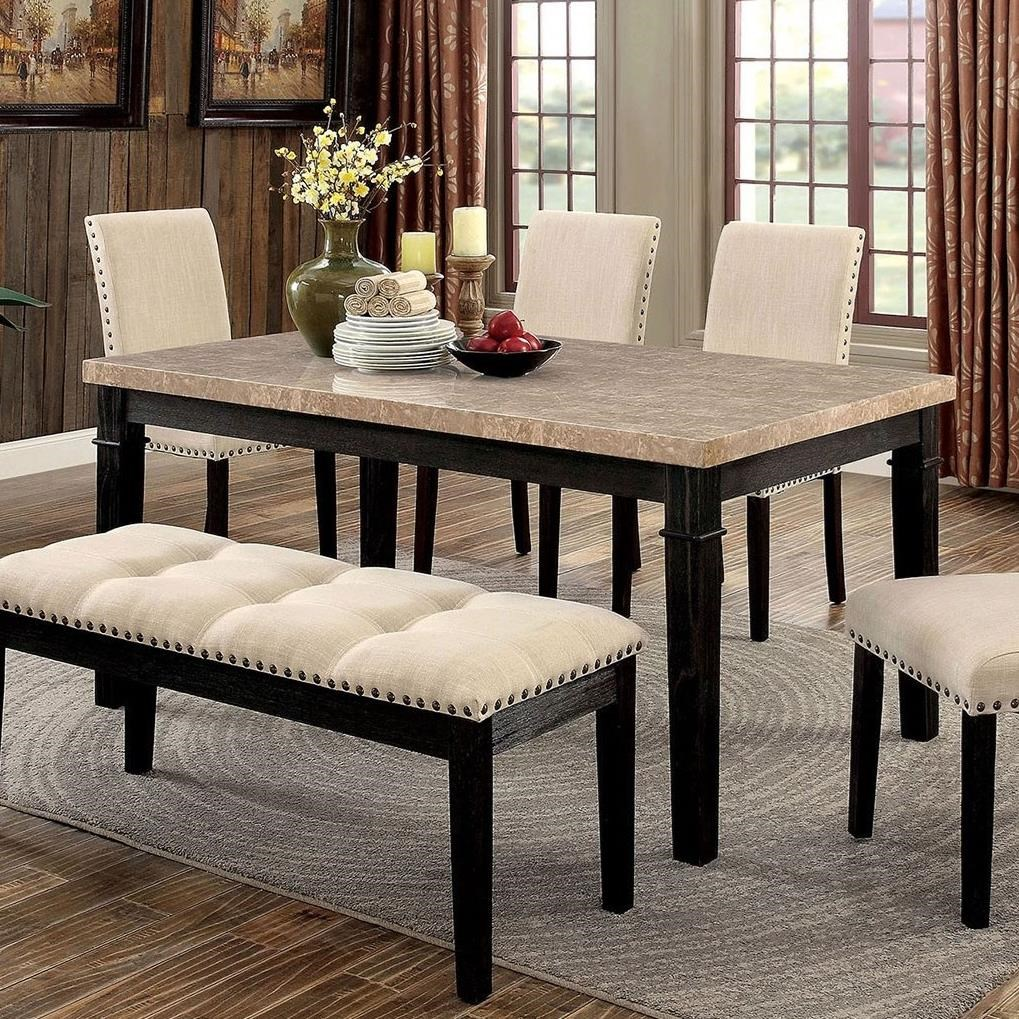 Dodson Dining Table at Household Furniture