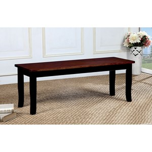 Transitional Dining Bench