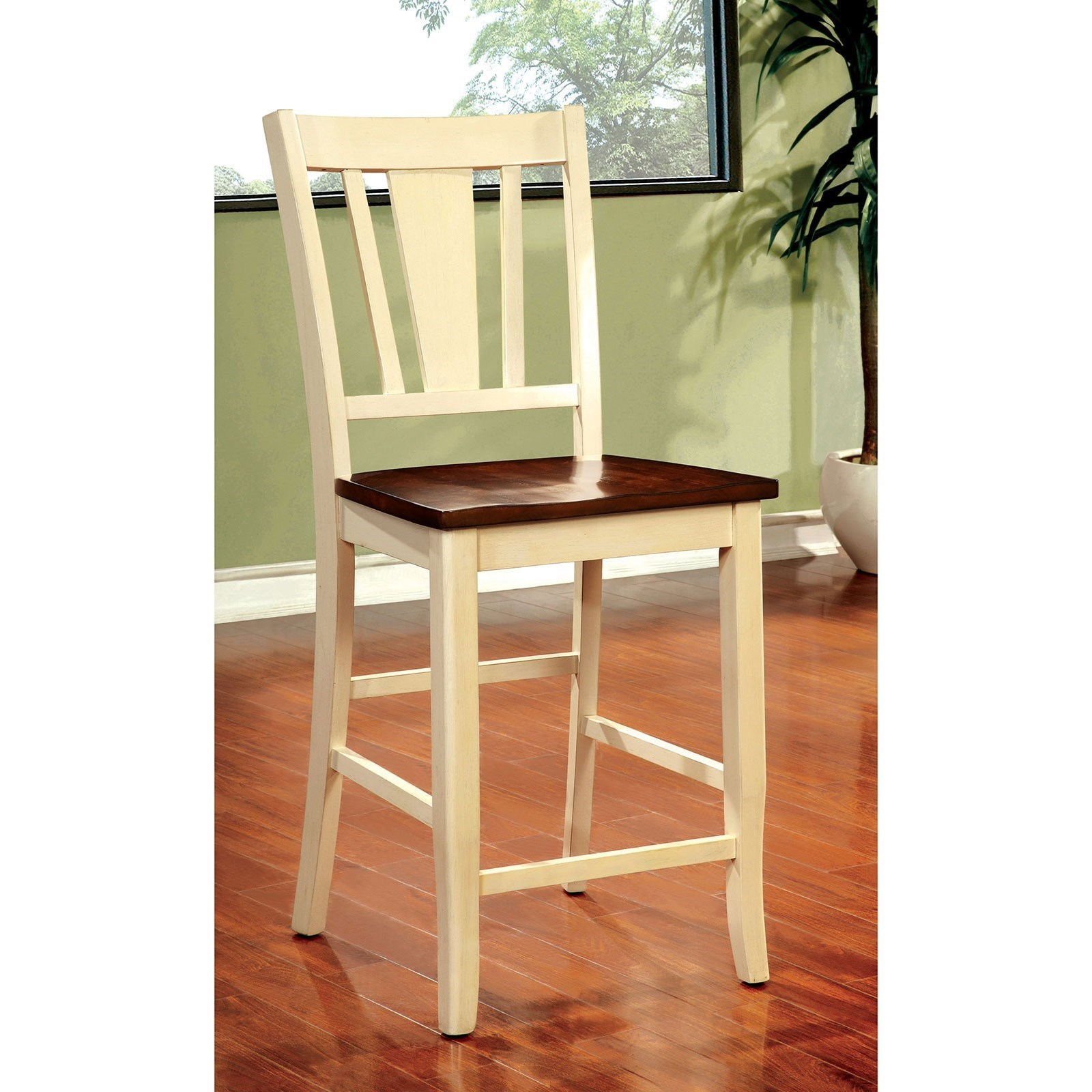 Dover Counter Height Chair by Furniture of America at Nassau Furniture and Mattress