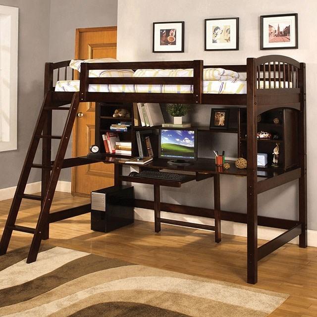 Dakota Ridge Twin Loft Bed w/ Workstation at Household Furniture