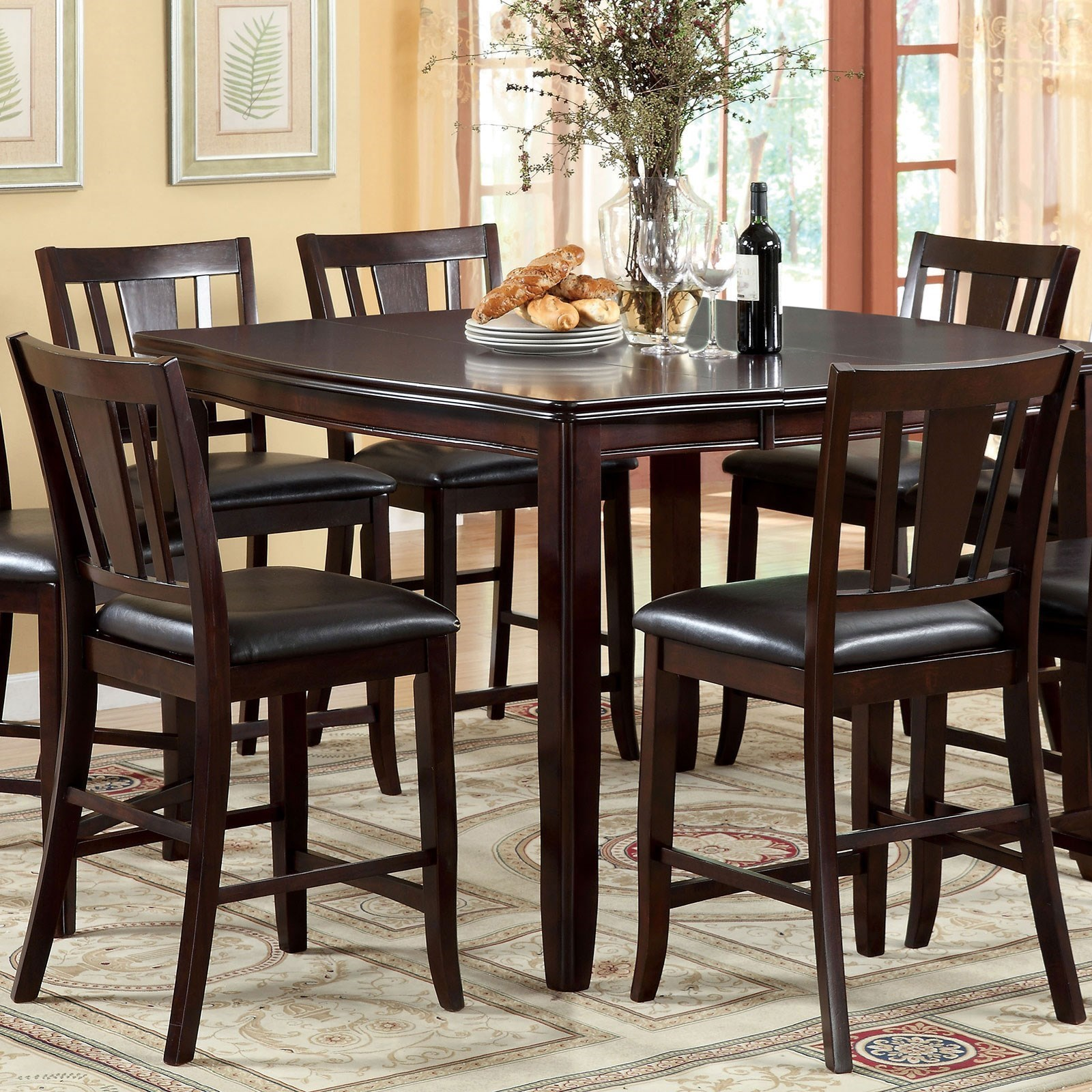 Edgewood Counter Height Table at Household Furniture