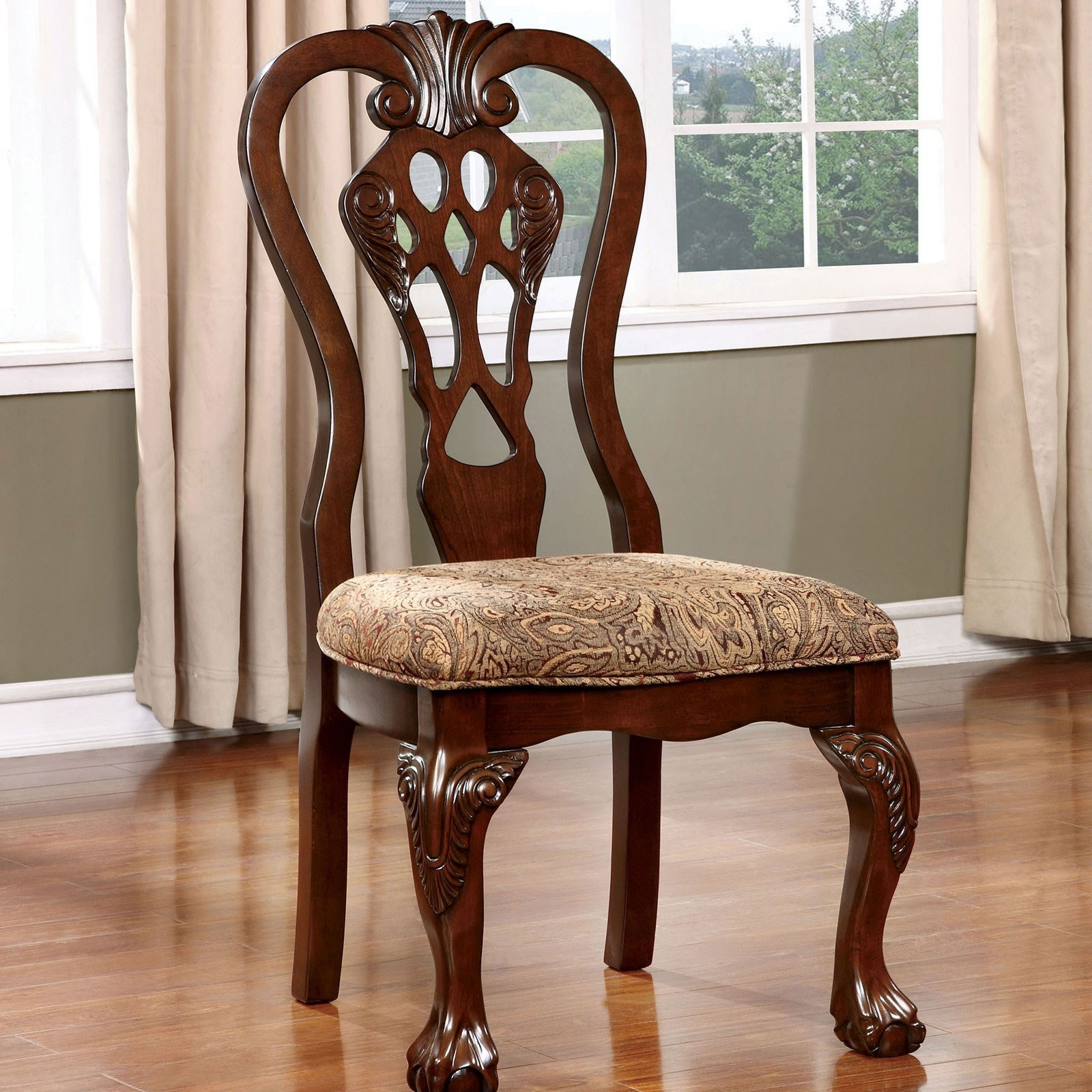Elana Dining Side Chair 2-Pack at Household Furniture