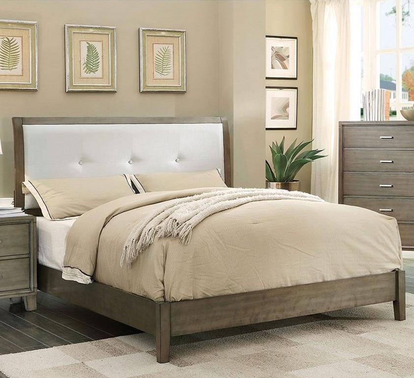 Enrico I California King Upholstered Bed at Household Furniture