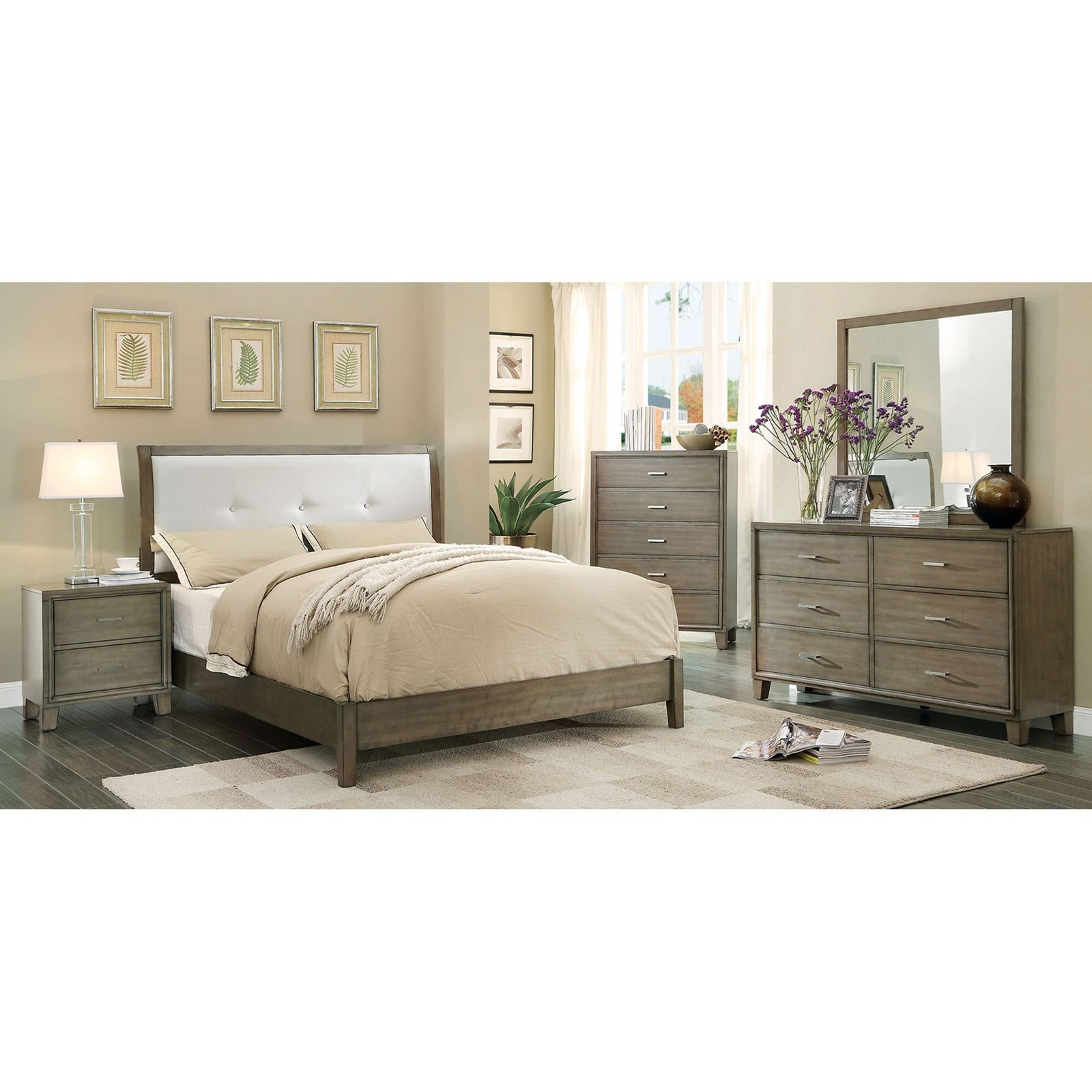 Enrico I Queen Bedroom Group at Household Furniture