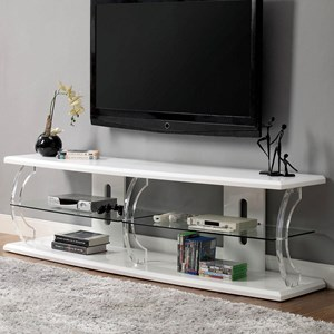 "72"" TV Stand with LED Lighting"