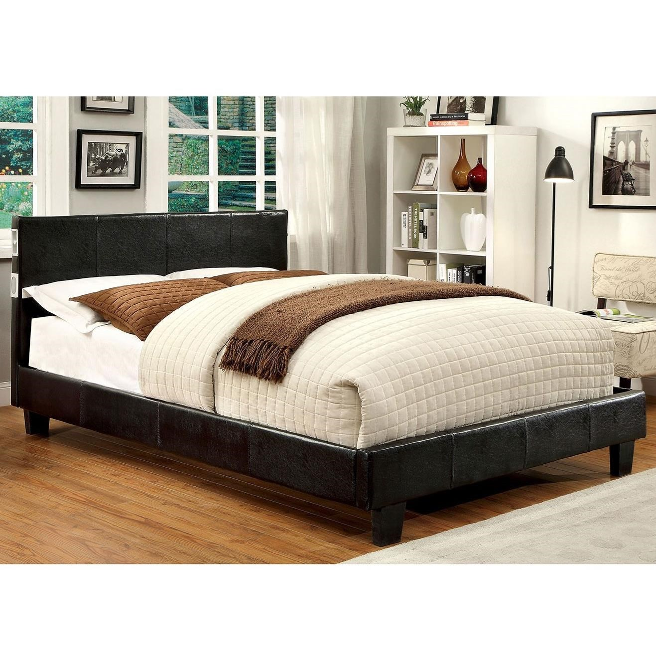 Evans King Bed at Household Furniture