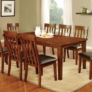 """Dining Table w/ 18"""" Leaf"""