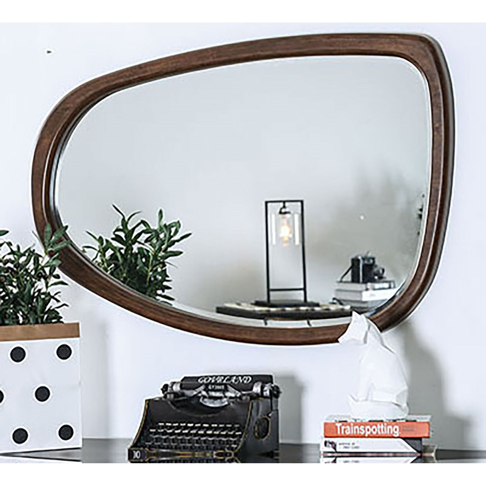 Fulton Curved Mirror  at Household Furniture