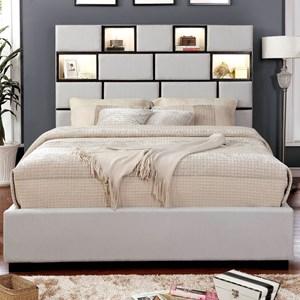 Contemporary Queen Bed