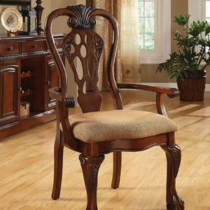 2 Pack of Traditional Arm Chairs