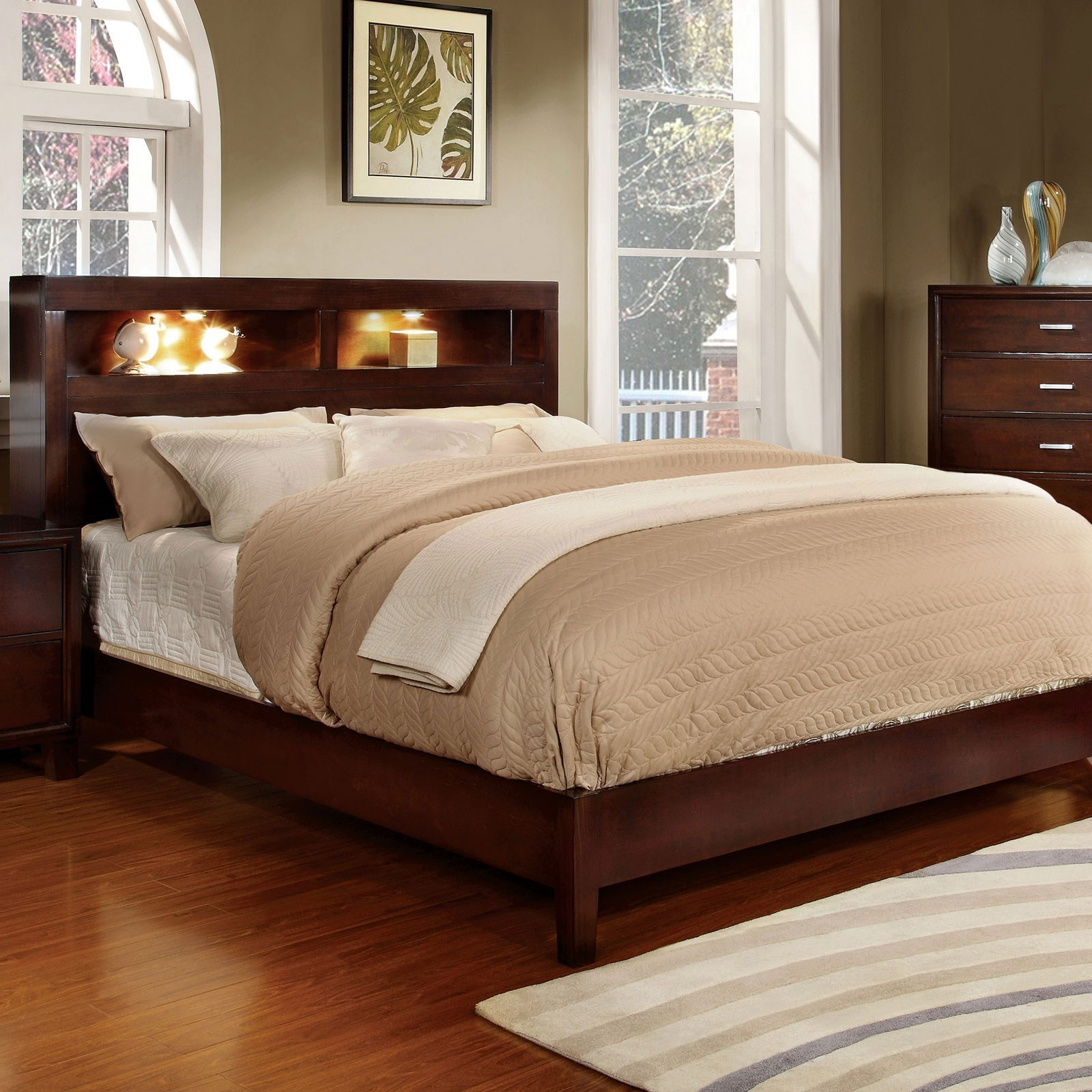 Gerico I Queen Bookcase Bed at Household Furniture
