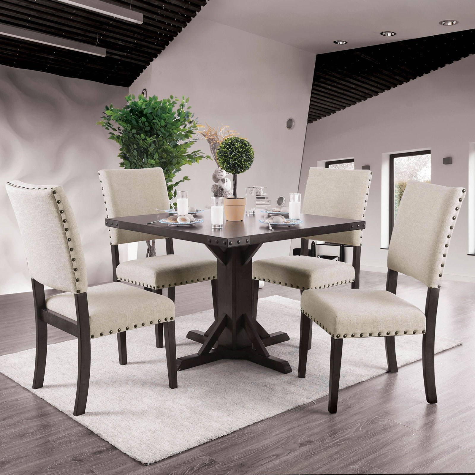 Glenbrook Table + 4 Chairs at Household Furniture