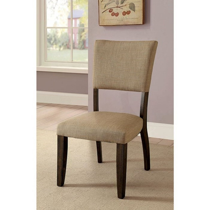 Gomeisa Set of 2 Side Chairs by Furniture of America at Nassau Furniture and Mattress