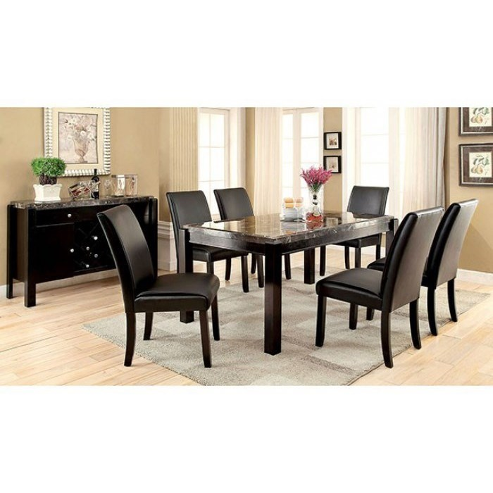 Grandstone I 7 Piece Dining Set by Furniture of America at Dream Home Interiors