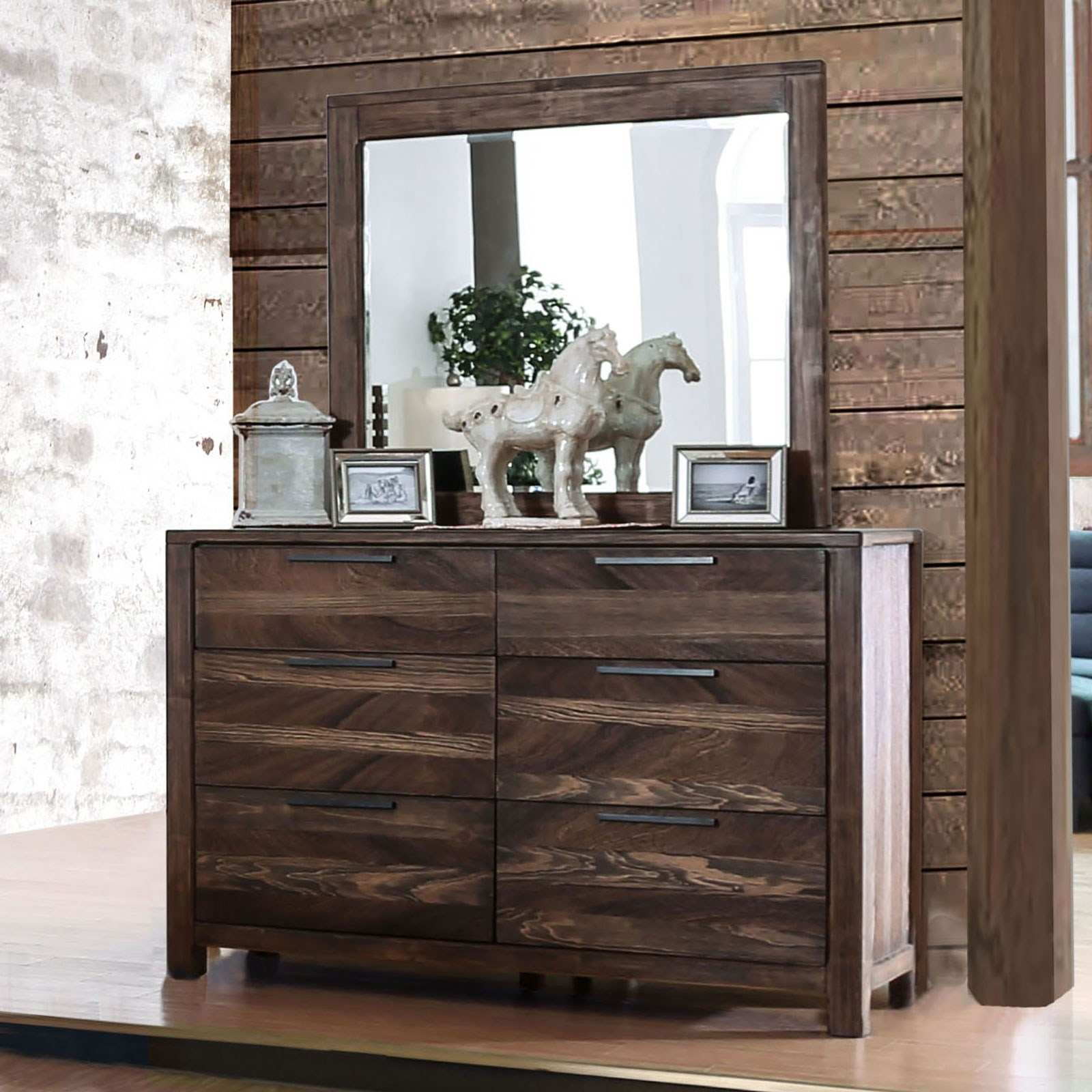 Hankinson Dresser and Mirror Combination at Household Furniture