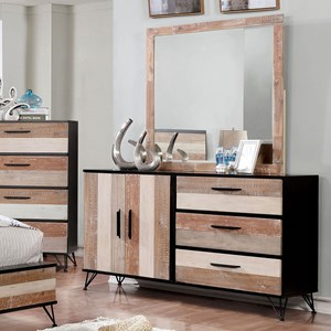 Rustic Dresser with Doors