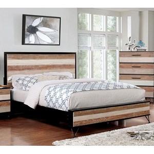 Rustic Queen Bed
